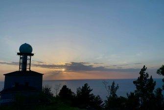 Středozemní moře   Nocleh u meteorologické stanice
