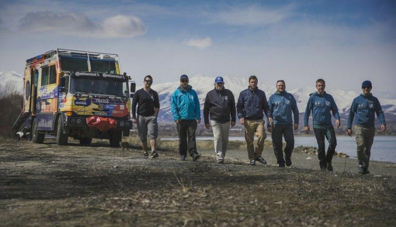 Sedm statečných u jezera Van v Turecku