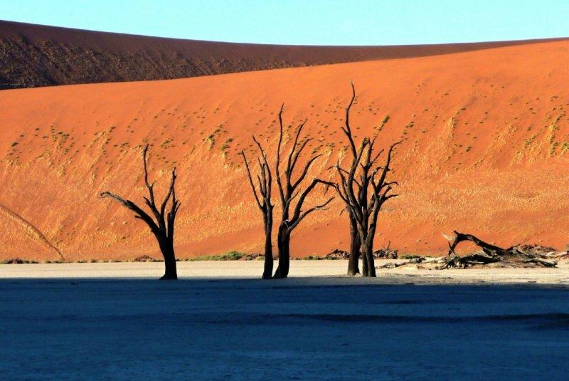 Sossusvlei – Mrtvé údolí, Namibie
