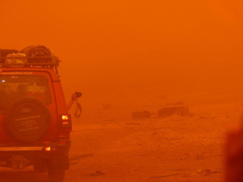 Písečná bouře, Súdán