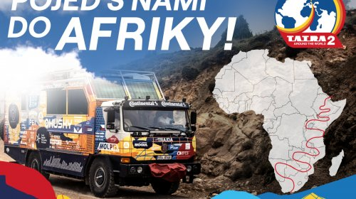 Tatra kolem světa 2 startuje už za několik týdnů, aneb Afrika volá!