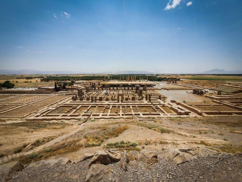Pozůstatky města Persepolis