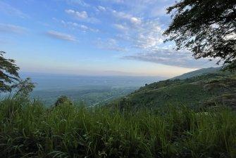 Vyhlídky byly skutečně nádherné, a to až do Demokratické Republiky Kongo a okolních parků.