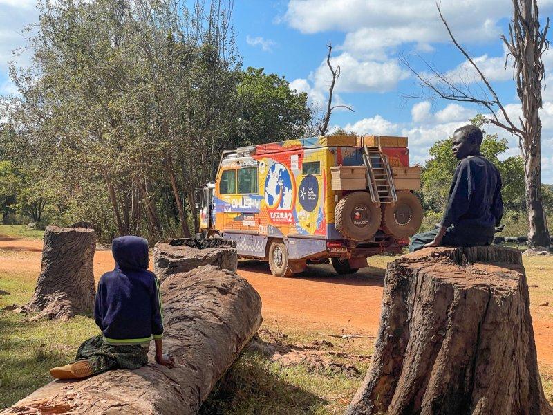 Do Zambie se tým expedice TKS2 dostal v neděli 17. července 2021.