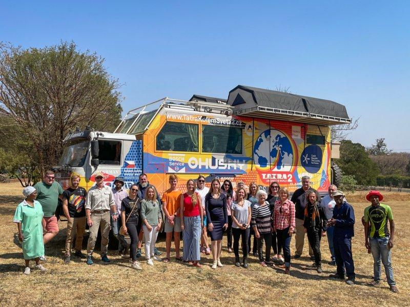 V Jihoafrické republice proběhlo 3. září 2021 neformální a přátelské setkání, které uspořádalo Velvyslanectví ČR v Pretorii s krajany a přáteli České republiky.