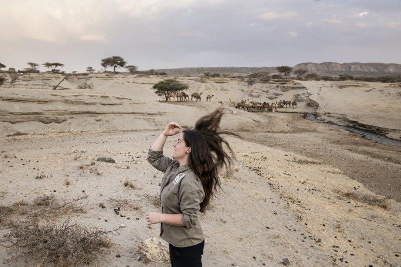 Ženy na expedice patří!   (Tereza má na sobě expediční košili BUSHMAN)