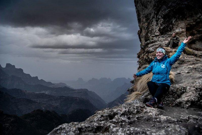 Simienské hory. /Etiopie 2021