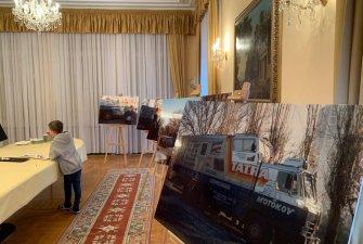 Tým TKS2 v Ankaře na velvyslanectví   Malé překvapení v podobě snímků z výpravy z konce 80. let
