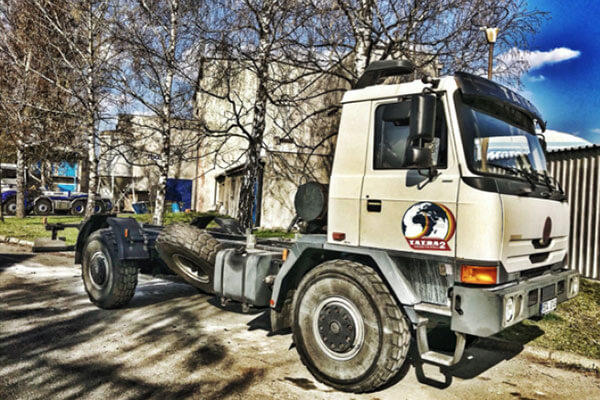 podvozek tatra